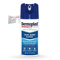 Dermoplast Pain & Itch Spray, 2.75 Ounce Can (Packaging May Vary)
