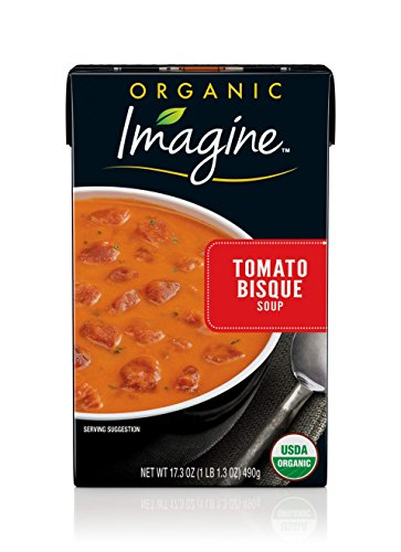 Imagine Organic Soup, Tomato Bisque, 17.3 oz. (Pack of 12)
