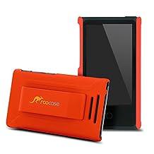 iPod Nano 7 Case - roocase Ultra Slim Fit (Orange) Shell Case Cover for Apple iPod Nano 7 (7th Generation)