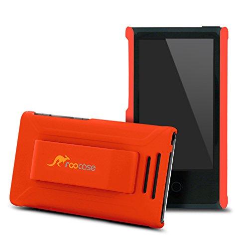 ipod-nano-7-case-roocase-ultra-slim-fit-orange-shell-case-cover-for-apple-ipod-nano-7-7th-generation