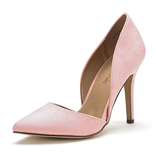 DREAM PAIRS Womens Oppointed Dress Pump Stiletto Heel Shoes