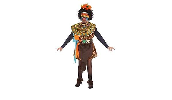 LLOPIS - Disfraz Infantil Africana t-5: Amazon.es: Juguetes y juegos