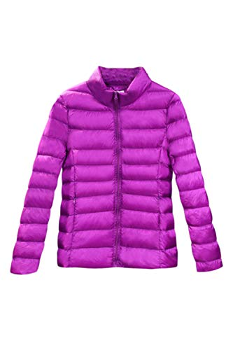 da34747c31b Chaquetas Abajo Invierno Púrpura Abrigo Peso Mujeres De Ligero Chaqueta  xwTnq0agU