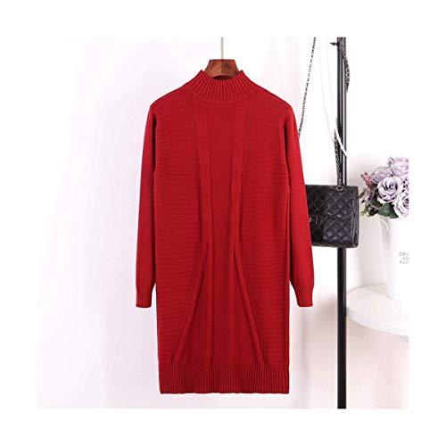 Maglia Perlato Khaki Barchetta In Size Donna Home Xinsu One Girocollo Wine Lunga Manica A Top Size Scollo Con Red color Pf6Fzw