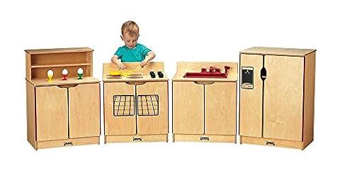 Jonti Craft 4 Pc Kinder Kitchen Play Set for Toddlers - Jonti Craft Kinder Kitchen