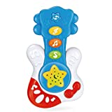 WEofferwhatYOUwant Portable First Guitar. Educational Toy for Music Learning and Entertainment for...