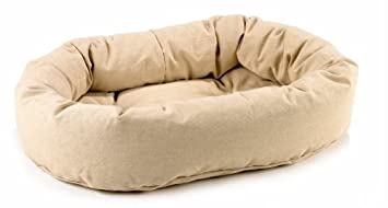 bowsers cáñamo Donut cama para perro