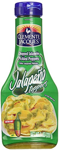 (Clemente Jacques Chopped Jalapeno Peppers Squeezable (7oz) )