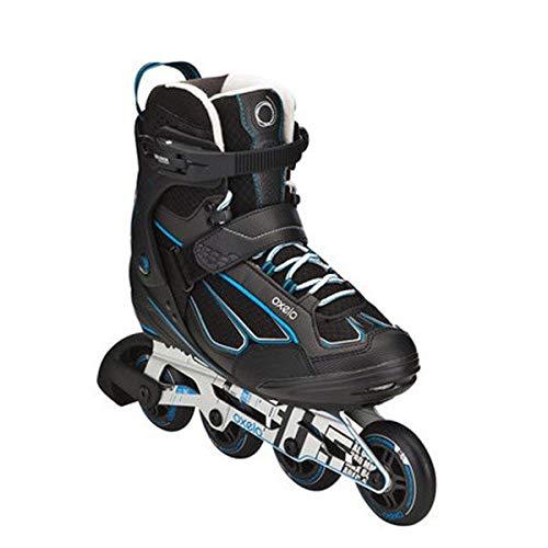 ナラーバー発音する矩形ローラーブレード OXELO インラインスケート ローラースケート 子供/ジュニア用 初心者向け サイズ調節可能 スケーティング ローラースケート