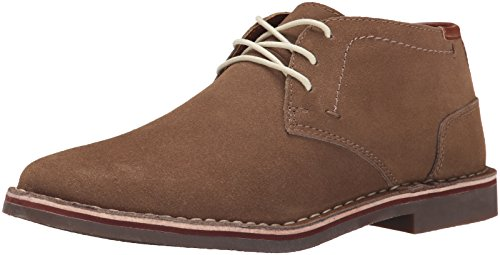 (Kenneth Cole REACTION Men's Desert Sun SU Chukka Boot, Taupe Suede, 11 M)