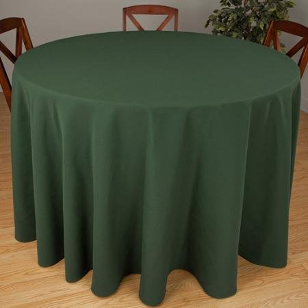 Riegel Premier Hotel Quality Tablecloth, 132'' Round, Green by riegel