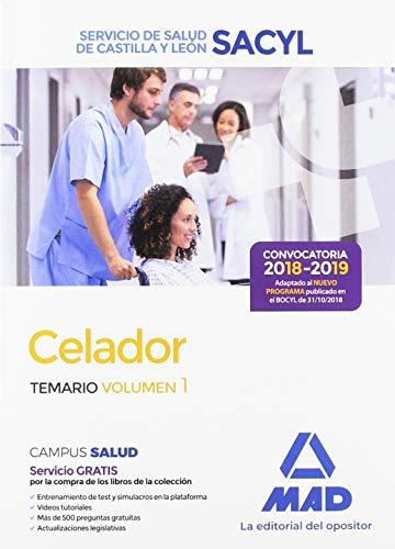 Celador : Servicio de Salud de Castilla y León, SACYL. Temario (Servicio De Salud De Castilla Y Leon)
