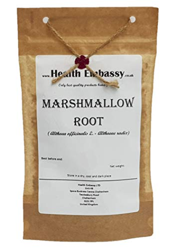 Marshmallow Root (Althaea officinalis L. - Althaeae radix) - Health Embassy - 100% Natural ()