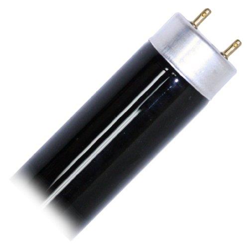 Eiko 15527 - F15T8/BLB Straight T8 Black Light Fluorescent Tube Light Bulb - Pack of 2