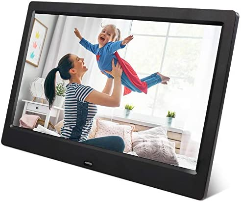 ARUNGO 10.1 inch Digital Picture Frame Photo Frame Digital Video Music Player Support USB SD Slideshow Gift Package