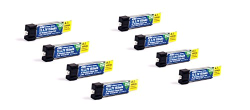 150mah 3 7v Lipo Battery 8Pcs product image