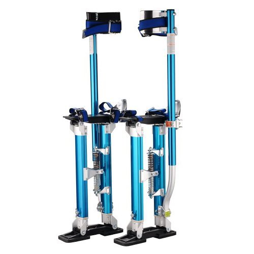 Pentagon Tools 1121 Drywall Stilts 24 to 40 Height, Blue by Pentagon Tools