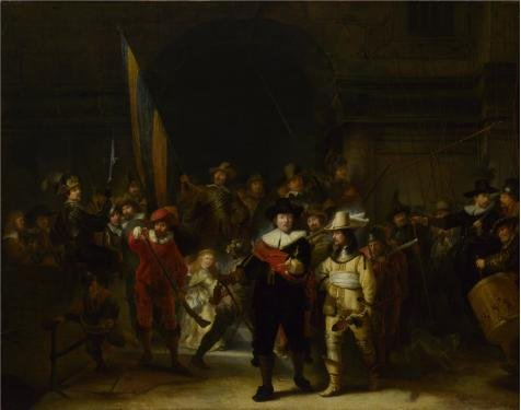 oil-painting-gerrit-lundens-after-rembrandt-the-company-of-captain-banning-cocq-the-nightwatchafter-