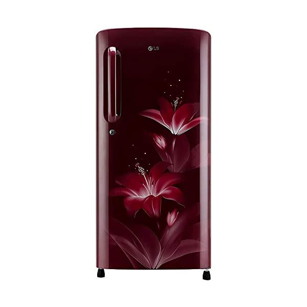 LG 190 L 4 Star Inverter Direct-Cool Single Door Refrigerator (GL-B201ARGY, Ruby Glow, Fastest Ice Making) 2021 July As per Bureau of Energy Efficiency (BEE), there is 1 point energy rating drop in 2020 for refrigerators. Direct-cool refrigerator: Economical and Cooling without fluctuation Capacity 190 litres: Suitable for families with 2 to 3 members and bachelors