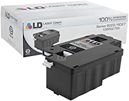 LD Compatible Toner Cartridge Replacements for Xerox Phaser 6022 &  WorkCentre 6027 (2 Black, 1 Cyan, 1 Magenta, 1 Yellow, 5-Pack)