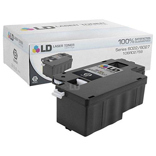 - LD Compatible Xerox 106R02759 Black Laser Toner Cartridge for use in Xerox 6022 & 6027