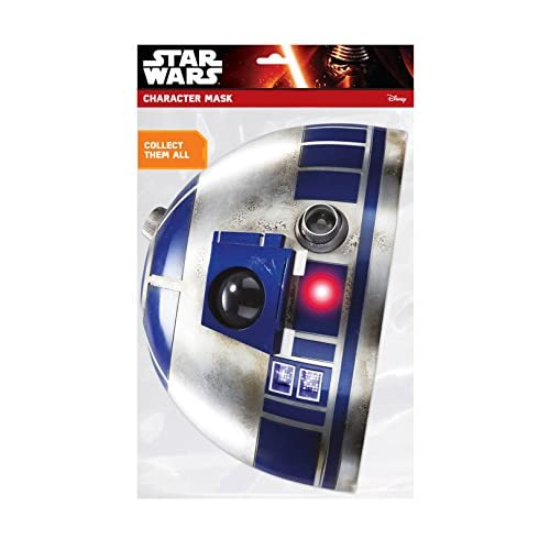 Masque carton R2-D2 - Star Wars