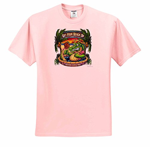 light-tropical-fun-illustration-crocodile-on-a-tropical-beach-in-a-hot-tub-t-shirts-adult-light-pink