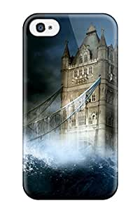 Snap-on Tower Bridge Case Cover Skin Compatible With Iphone 4/4s