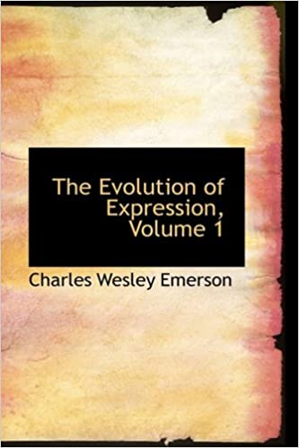 Book The Evolution of Expression, Volume 1