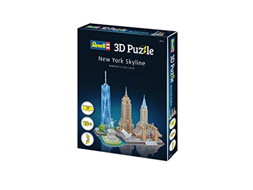 Revell 3d Puzzle Puzzles & Geduldspiele New York Skyline #00142