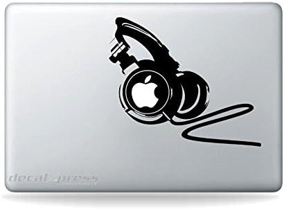 Professional Headphones Decal Sticker MacBook product image