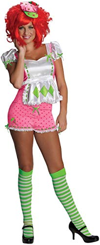 Secret Wishes Strawberry Shortcake Costume and Accessories, Pink/White, Medium