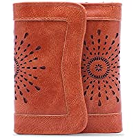 OURBAG Women's Lady Leather Wallet Purse Credit Card Clutch Holder Long Wallets