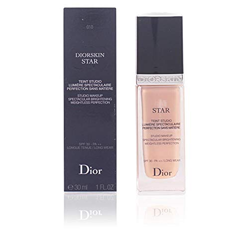 Christian Dior Skin Star Studio Spectacular Brightening Perfection SPF 30 Makeup, No. 010 Ivory, 1 Ounce