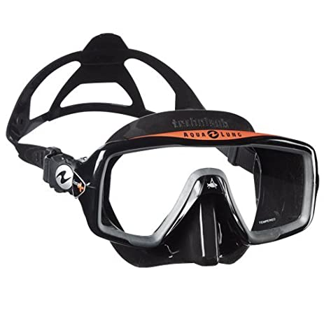 Amazon.com : Aqua Lung Ventura+ Dive Mask (Black / Black) : Sports ...
