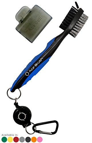 - Golf Brush and Club Groove Cleaner (Blue)