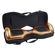 """EVA Nylon Hard Carrying Bag Case for 6.5"""" Hoverboards Self Balancing Electric Scooters"""