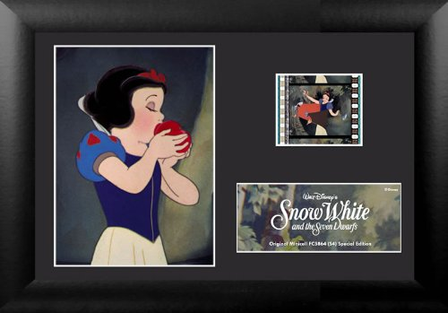 Disney's Snow White 35mm Film Cell Display Framed Art