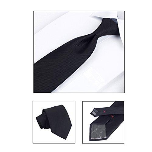 Amazing À Tour Noir Cravate Boite Homme PPTqgwZn
