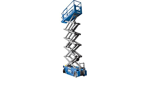 Amazon com: Genie Self-Propelled Scissor Lift Aerial Work