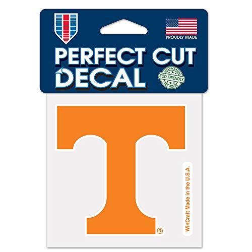 (WinCraft NCAA University of Tennessee 48907012 Perfect Cut Color Decal, 4
