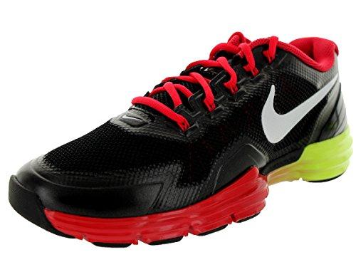 Nike Mens Lunar Tr1 Scarpa Da Allenamento Nero / Bianco / Iper Rosso / Volt