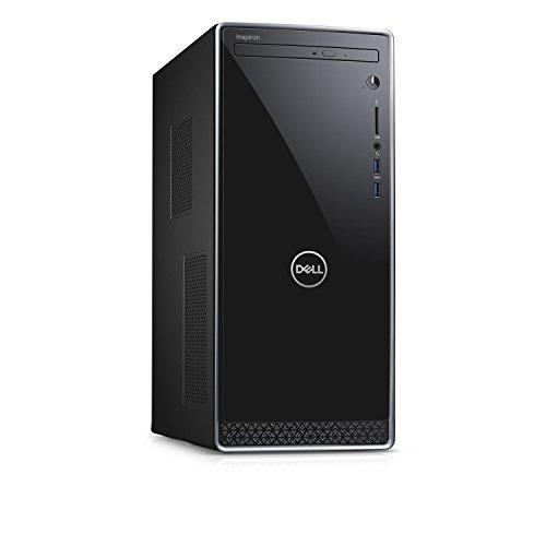 Dell Inspiron i3670 Desktop – 8th Gen Intel Core i7-8700 6-Core up to 4.60 GHz, 8GB DDR4 Memory, 1TB SATA Hard Drive, 2GB Nvidia GeForce GT 1030, DVD Burner, Windows 10 Pro