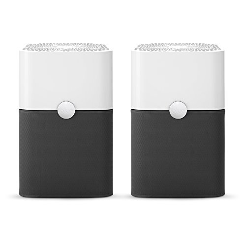 (Blue Pure 211+  Air Purifier (2 pack)  3 Stage with Two Washable Pre-Filters, Particle, Carbon Filter, Captures Allergens, Odors, Smoke, Mold, Dust, Germs, Pets, Smokers, Large Room)