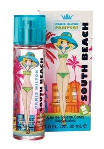 Beach Edt Spray (Passport South Beach FOR WOMEN by Paris Hilton - 3.4 oz EDT Spray)