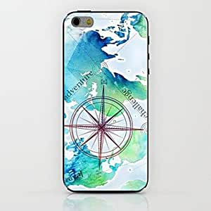 LIMME Map Compass Pattern hard Case for iPhone 6