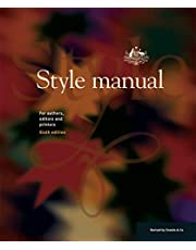 Style Manual: For Authors, Editors and Printers 6E Author: Department of Finance and Administration