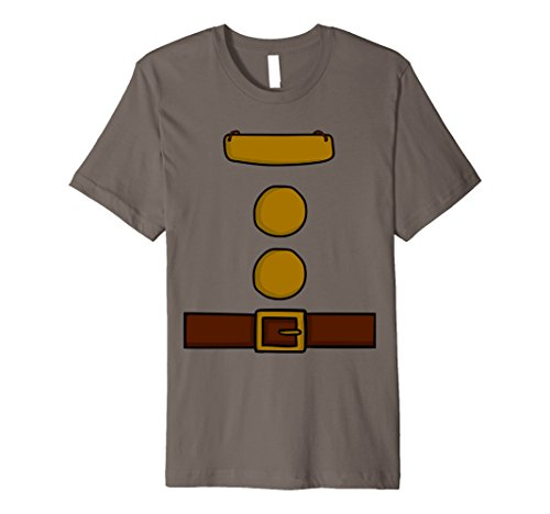 Mens Dwarf Halloween Group Costume Idea T-Shirt with name plaque Large Asphalt - Group Costumes For Halloween Ideas