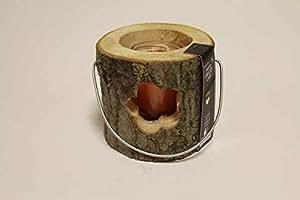 HOUSE OF RUSTIC - Lanterna in legno c/candela