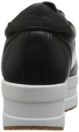 Steve Madden Damen Keil Sneaker, Schwarz, 39 EU